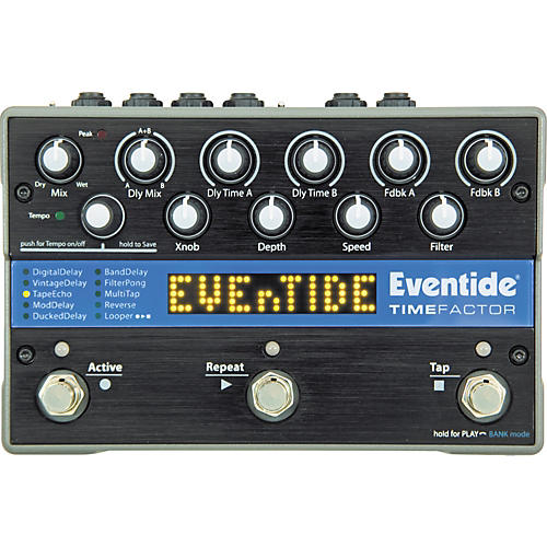 Eventide TimeFactor Twin Delay Guitar Effects Pedal-thumbnail
