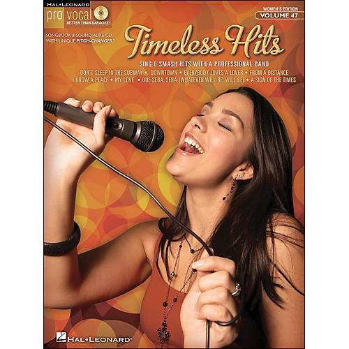 Hal Leonard Timeless Hits - Pro Vocal Songbook for Female Singers Volume 47 Book/CD