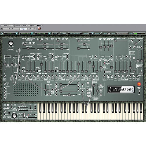 Way Out Ware TimewARP 2600 Plug-in Synthesizer