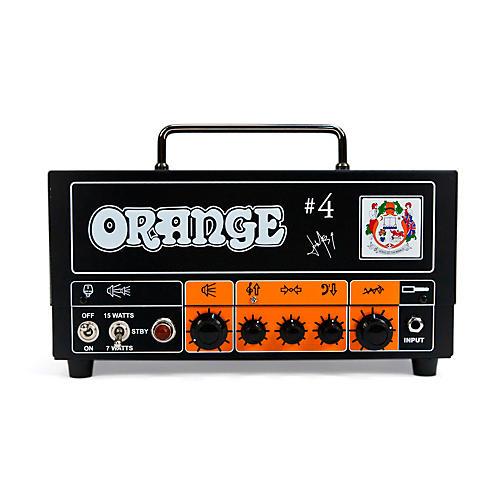 Orange Amplifiers Tiny Terror TT15JR Jim Root #4 Signature 15W Tube Guitar Amp Head Orange