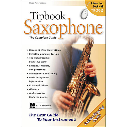 Hal Leonard Tipbook - Saxophone-thumbnail