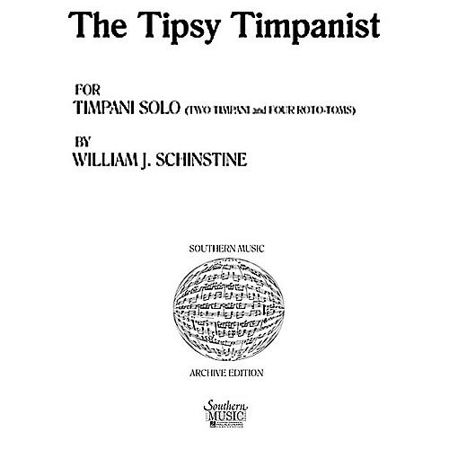 Hal Leonard Tipsy Tympanist (Percussion Music/Timpani - Other Musi) Southern Music Series Composed by Spears, Jared