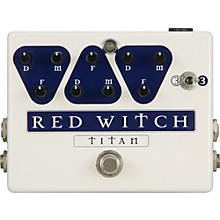 Red Witch Titan Delay Guitar Effects Pedal Level 1