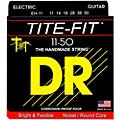 DR Strings Tite-Fit EH-11 Extra Heavy Nickel Plated Electric Guitar Strings-thumbnail