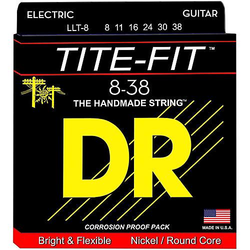 DR Strings Tite-Fit LLT-8 Lite-Lite Nickel Plated Electric Guitar Strings