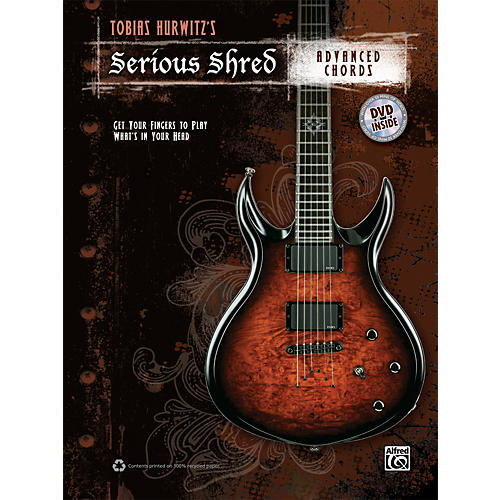 Alfred Tobias Hurwitzs Serious Shred: - Advanced Chords Book & DVD-thumbnail