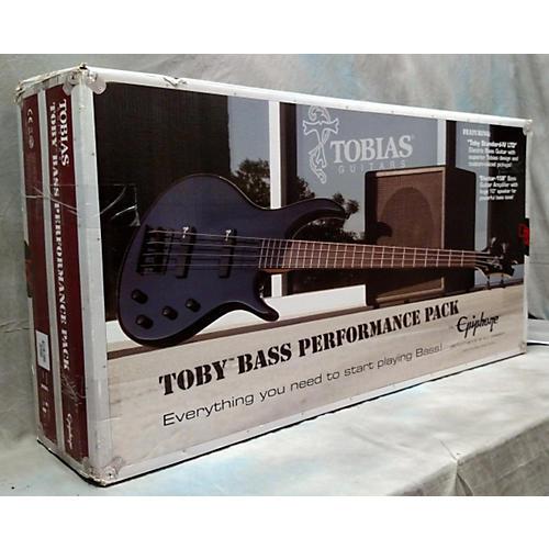 Tobias Toby Bass Performer Pak Ebony Electric Bass Guitar