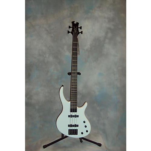 Tobias Toby Standard IV White Electric Bass Guitar