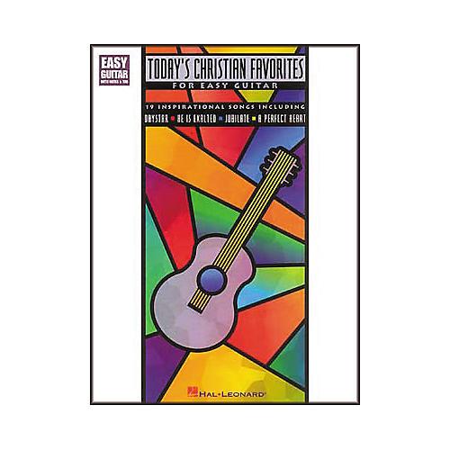 Hal Leonard Today's Christian Favorites for Easy Guitar Book
