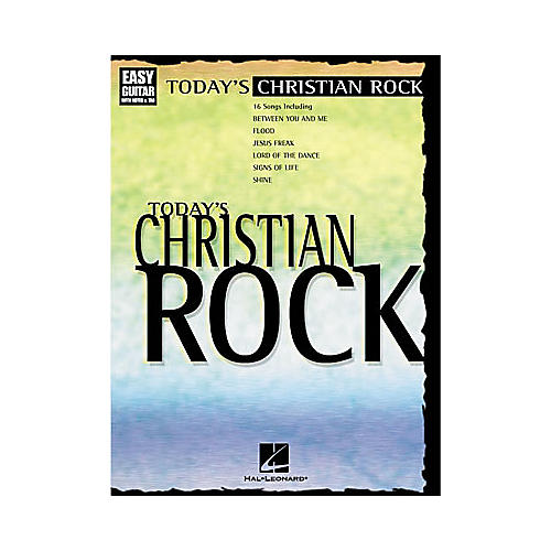 Hal Leonard Today's Christian Rock Easy Guitar Tab Book
