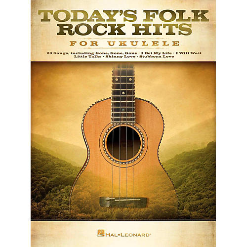 Hal Leonard Today's Folk Rock Hits For Ukulele-thumbnail