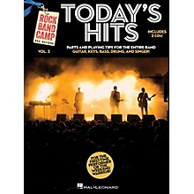Hal Leonard Today's Hits - Rock Band Camp Vol. 2 (Book/2-CD Pack) Vocal, Guitar, Keys, Bass, Drums