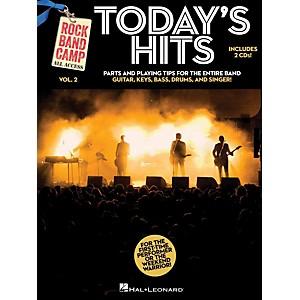 Hal Leonard Todays Hits - Rock Band Camp Vol. 2 Book/2-CD Pack Vocal, Gu... by Hal Leonard