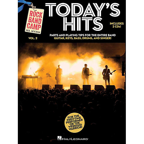 Hal Leonard Today's Hits - Rock Band Camp Vol. 2 (Book/2-CD Pack) Vocal, Guitar, Keys, Bass, Drums-thumbnail