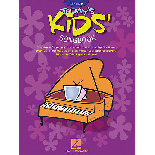 Hal Leonard Today's Kids' Songbook For Easy Piano