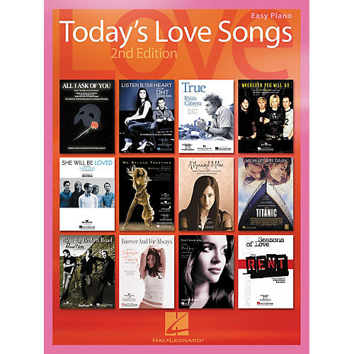 Hal Leonard Today's Love Songs 2nd Edition for Easy Piano-thumbnail
