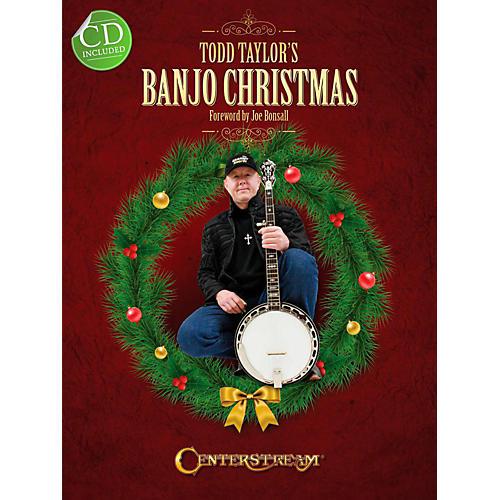 Centerstream Publishing Todd Taylor's Banjo Christmas (Book/CD)-thumbnail