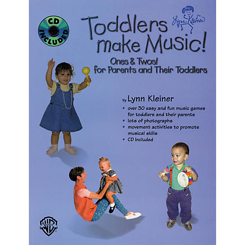 Rhythm Band Toddlers Make Music! Ones and Twos (Parents' Book/CD)-thumbnail