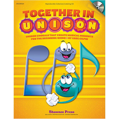 Hal Leonard Together In Unison Book/CD