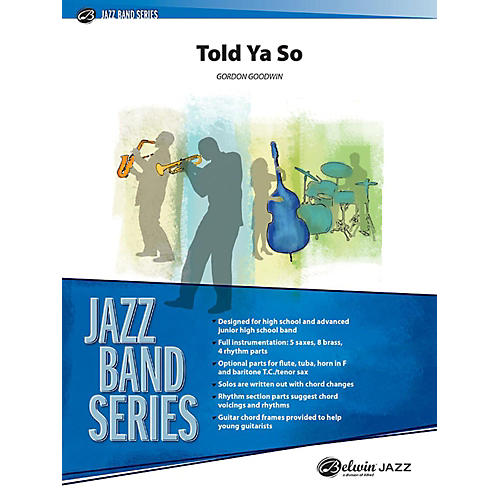 Alfred Told Ya So Jazz Band Grade 3 Set-thumbnail