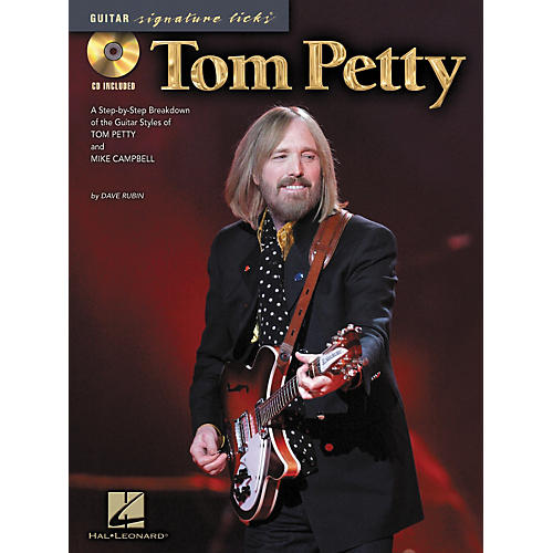 Hal Leonard Tom Petty - Guitar Signature Licks (Book/CD)-thumbnail