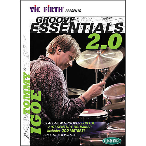 Hudson Music Tommy Igoe Groove Essentials 2.0 Book/CD/DVD Play-Along with Stick for Guitar Center-thumbnail