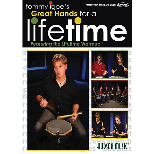 Hudson Music Tommy Igoe's Great Hands for a Lifetime DVD-thumbnail