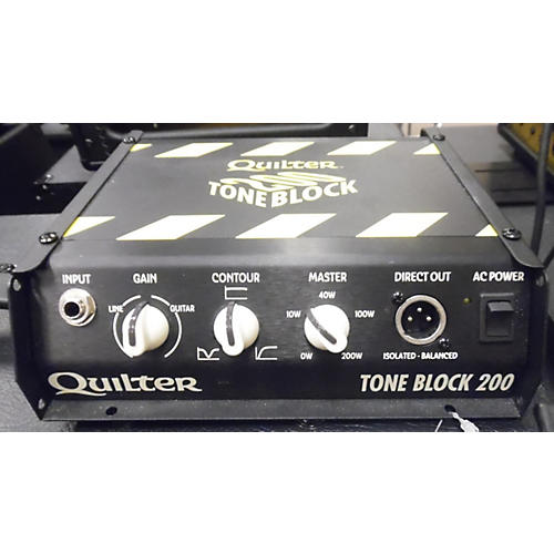 Quilter Labs Tone Block 200 Solid State Guitar Amp Head-thumbnail