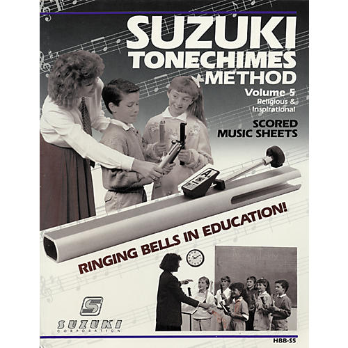 Suzuki Tone Chimes Volume 5 Religious and Inspirational-thumbnail