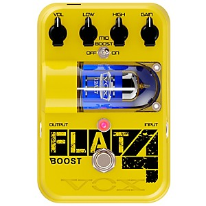 Vox Tone Garage Flat 4 Boost Guitar Effects Pedal by Vox