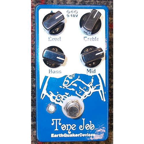 Earthquaker Devices Tone Job EQ And Boost Effect Pedal-thumbnail