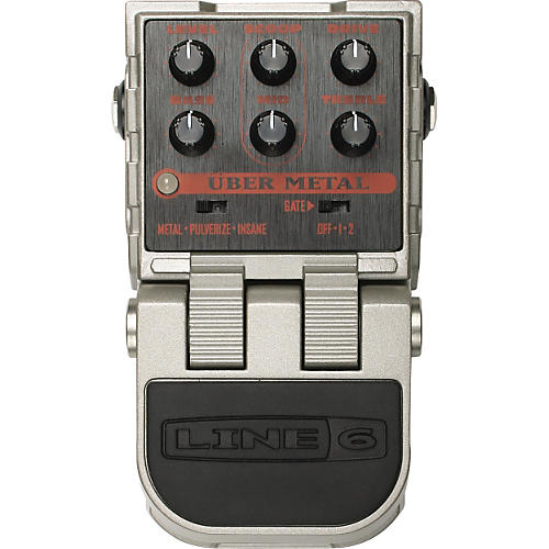 Line 6 ToneCore Uber Metal Distortion Pedal-thumbnail