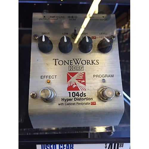 Korg ToneWorks Hyper Distortion Effect Pedal