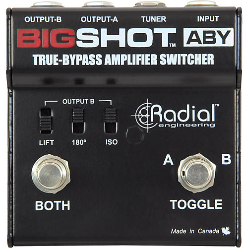 Radial Engineering Tonebone BigShot ABY Passive Switcher