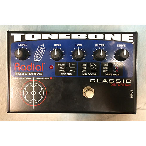 used radial engineering tonebone classic tube drive effect pedal guitar center. Black Bedroom Furniture Sets. Home Design Ideas