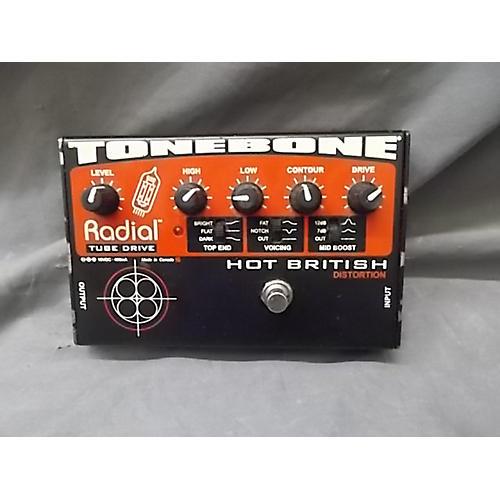Radial Engineering Tonebone Hot British Tube Drive Effect Pedal