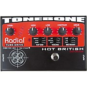 Radial Engineering Tonebone Hot British Tube Drive Effects Pedal