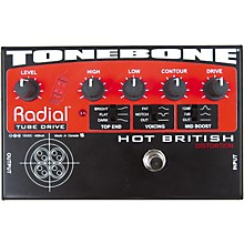 Radial Engineering Tonebone Hot British Tube Drive Effects Pedal Level 1