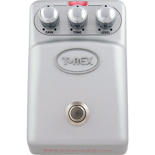 T-Rex Engineering Tonebug Distortion Guitar Effects Pedal Silver