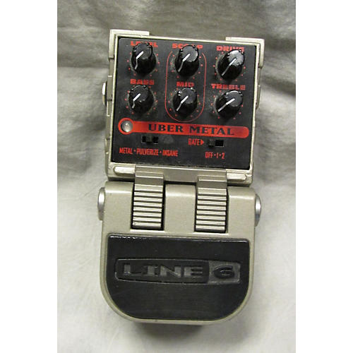 Line 6 Tonecore Uber Metal Heavy Distortion Effect Pedal-thumbnail
