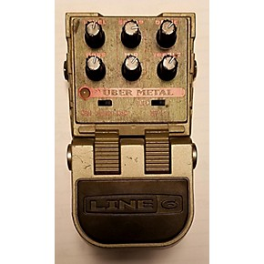 used line 6 tonecore uber metal heavy distortion effect pedal guitar center. Black Bedroom Furniture Sets. Home Design Ideas