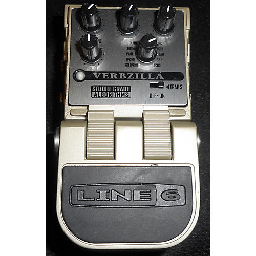 used line 6 tonecore verbzilla reverb effect pedal guitar center. Black Bedroom Furniture Sets. Home Design Ideas