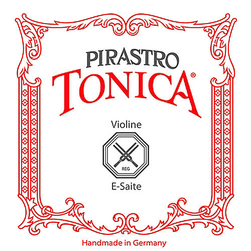 Pirastro Tonica Series Violin E String 1/4-1/8 Size Steel / Aluminum Medium Ball End
