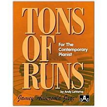 Jamey Aebersold Tons of Runs Book Intermediate / Advanced