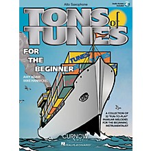 Curnow Music Tons of Tunes for the Beginner (Eb Alto Saxophone - Grade 0.5 to 1) Concert Band Level .5 to 1