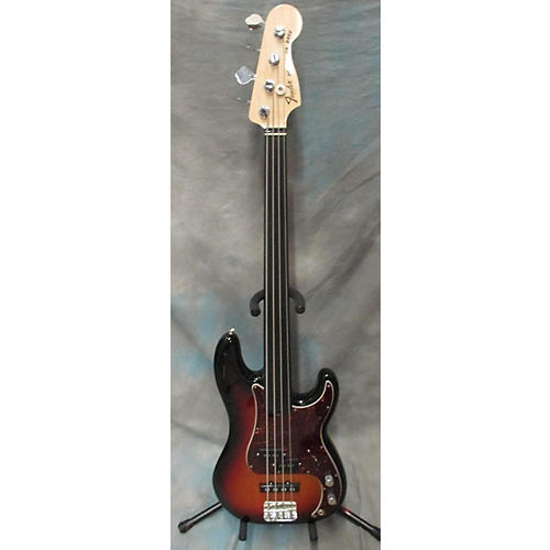 Fender Tony Franklin Signature Fretless Precision Bass 3 Color Sunburst Electric Bass Guitar