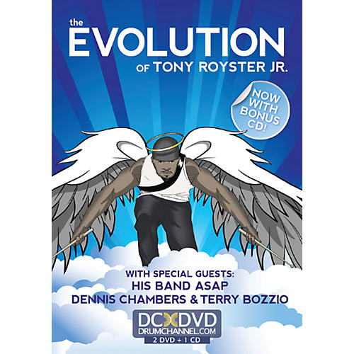 Alfred Tony Royster Evolution 2 DVDs & CD