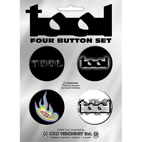 C&D Visionary Tool 4-Piece Button Set-thumbnail
