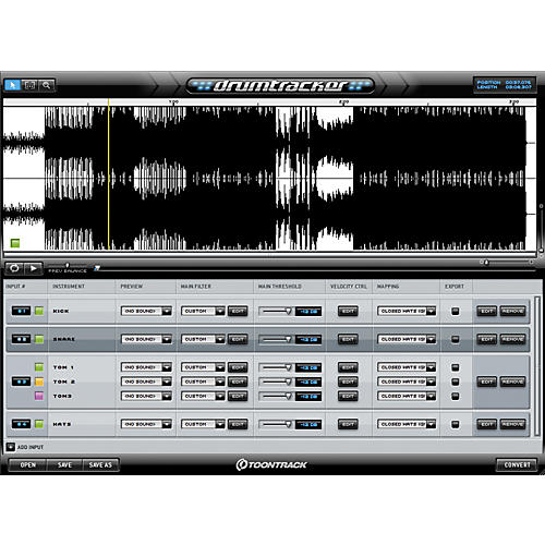 Toontrack Toontrack Drumtracker Software Download