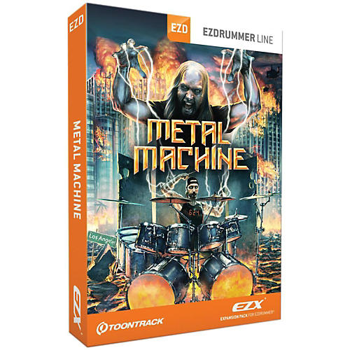 Toontrack Toontrack Metal Machine EZX Software Download-thumbnail